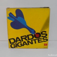 Juegos antiguos: DARDOS GIGANTES, ER JUGUETES DEPORTIVOS, COMPLETO Y EN CAJA. AÑOS 70. Lote 197578020