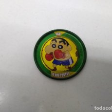 Juegos antiguos: TAZO SHINCHAN N° 160 METAL RAPPERS CHAPA AÑO 1997 BOLLYCAO . Lote 198534090