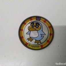 Juegos antiguos: TAZO SHINCHAN N° 66 METAL RAPPERS CHAPA AÑO 1997 BOLLYCAO . Lote 198534936