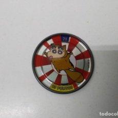 Juegos antiguos: TAZO SHINCHAN N° 71 METAL RAPPERS CHAPA AÑO 1997 BOLLYCAO . Lote 198535005