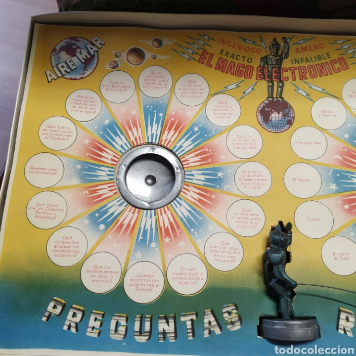 Juegos antiguos: Mago electrónico , siempre da la respuesta.De 1957 - Foto 2 - 198887837