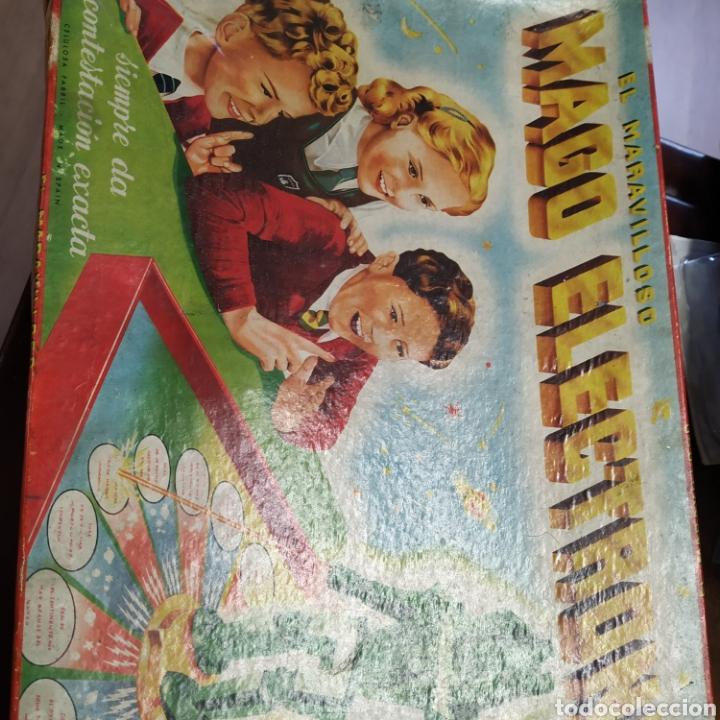 Juegos antiguos: Mago electrónico , siempre da la respuesta.De 1957 - Foto 4 - 198887837