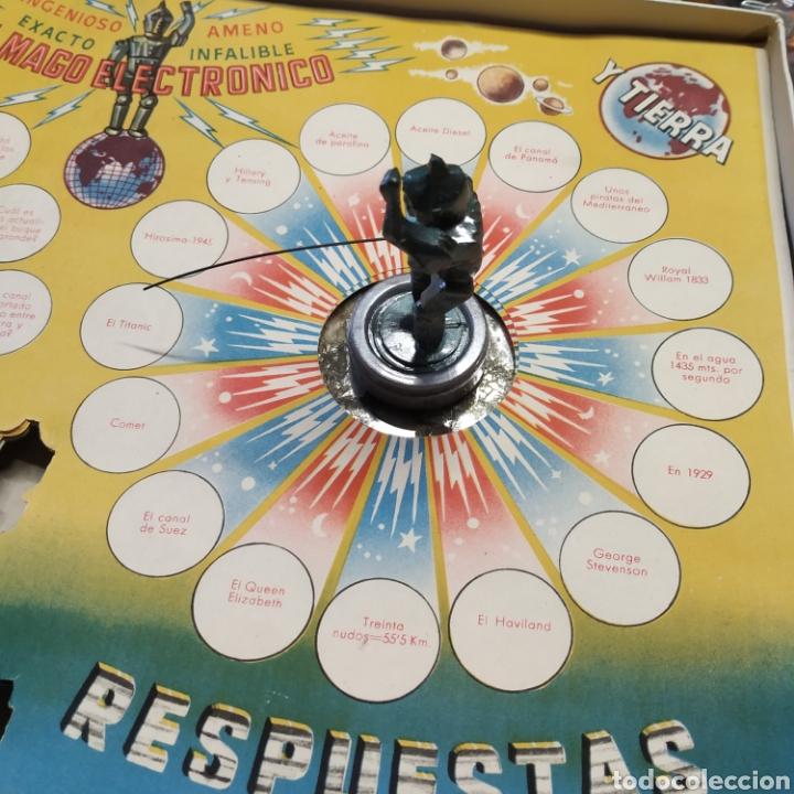 Juegos antiguos: Mago electrónico , siempre da la respuesta.De 1957 - Foto 6 - 198887837