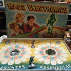 Juegos antiguos: MAGO ELECTRÓNICO , SIEMPRE DA LA RESPUESTA.DE 1957. Lote 198887837