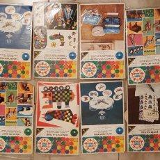 Juegos antiguos: LOTE 10 ANTIGUO JUEGOS HOBBY EDUCA MANUALIDADES RAVENSBURG JUEGOS 1969 JUGUETES. Lote 199331623
