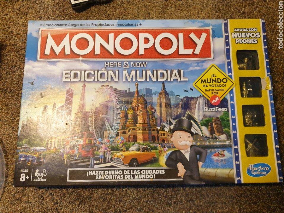 MONOPOLY EDICION MUNDIAL (Juguetes - Juegos - Otros)