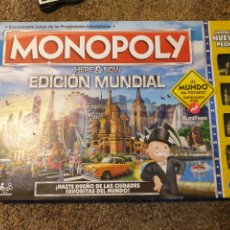 Juegos antiguos: MONOPOLY EDICION MUNDIAL. Lote 200743936