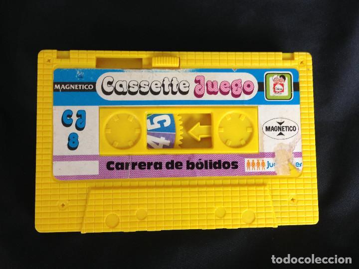 CARRERA DE BOLIDOS. CASSETTE JUEGO MAGNETICO DE CHICOS (Juguetes - Juegos - Otros)
