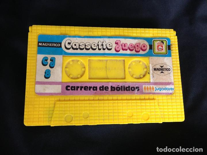 Juegos antiguos: CARRERA DE BOLIDOS. CASSETTE JUEGO MAGNETICO DE CHICOS - Foto 2 - 203114398