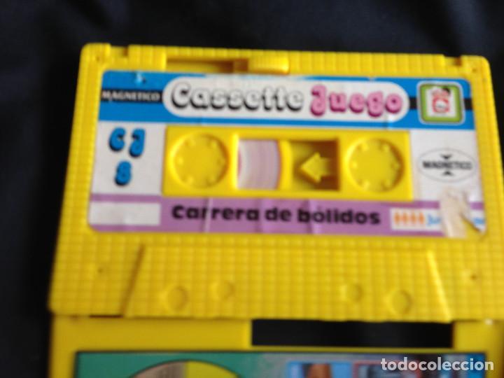 Juegos antiguos: CARRERA DE BOLIDOS. CASSETTE JUEGO MAGNETICO DE CHICOS - Foto 7 - 203114398