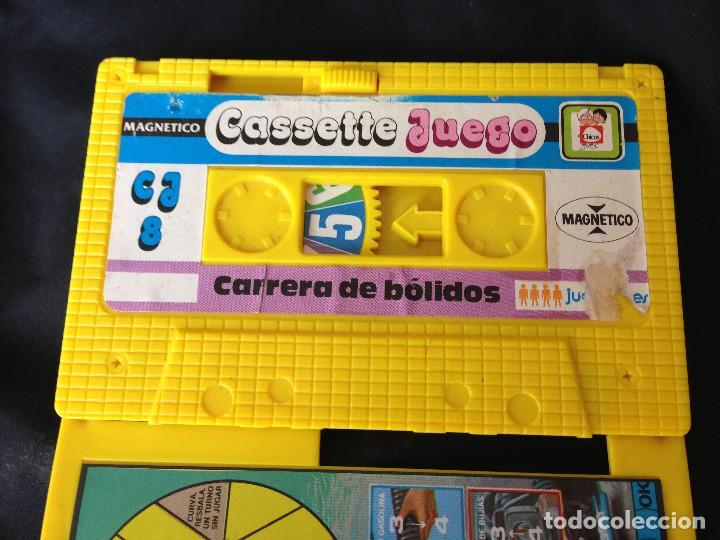 Juegos antiguos: CARRERA DE BOLIDOS. CASSETTE JUEGO MAGNETICO DE CHICOS - Foto 8 - 203114398