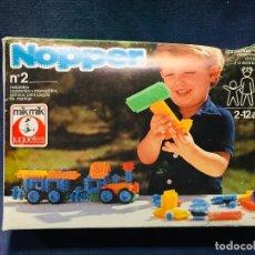 Juegos antiguos: CAJA N 2 NOPPER MIK MIK PARECE NUEVO POCO USO 8X21X15CMS. Lote 206225852