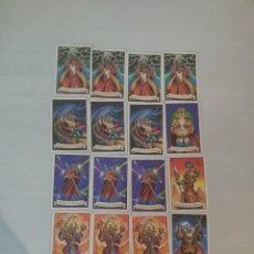 Juegos antiguos: 17 HECHIZOS CARTAS EXPANSIÓN LOS HECHICEROS DE MORCAR JUEGO DE MESA HEROQUEST HERO QUEST MB. Lote 195927492