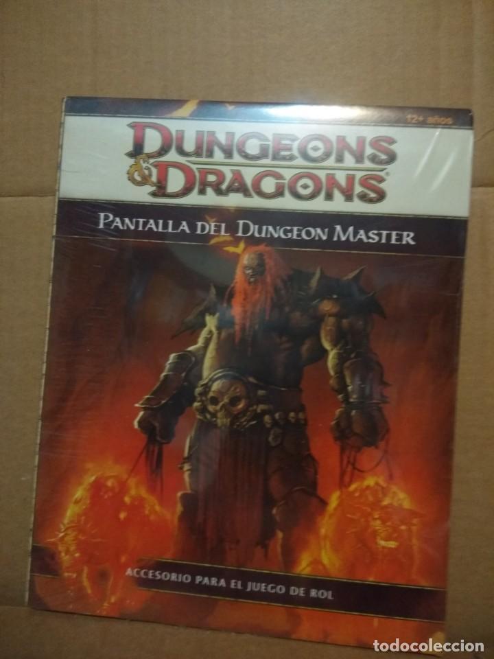 DUNGEONS & DRAGONS ( PANTALLA DEL DUNGEON MASTER ) NUEVO, PRECINTADO (Juguetes - Juegos - Otros)