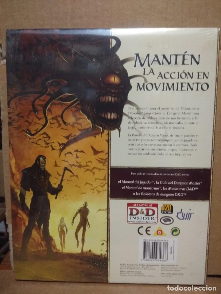 Juegos antiguos: DUNGEONS & DRAGONS ( PANTALLA DEL DUNGEON MASTER ) NUEVO, PRECINTADO - Foto 2 - 206300215