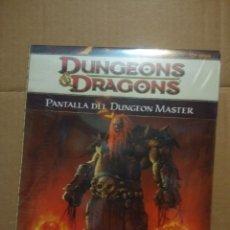 Juegos antiguos: DUNGEONS & DRAGONS ( PANTALLA DEL DUNGEON MASTER ) NUEVO, PRECINTADO. Lote 206300243