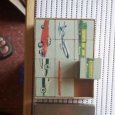 Juegos antiguos: ROMPECABEZAS --PICTURE CUBES--TRANSPORTATION. Lote 206889262