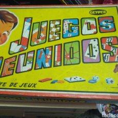 Juegos antiguos: JUEGO REUNIDOS. Lote 206897980