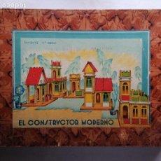 Juegos antiguos: ANTIGUO JUEGO, EL CONSTRUCTOR MODERNO F C D, CAJA Nº 2, MEDIDAS 38 X 26 X 4 CM. Lote 207101460