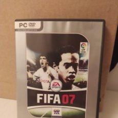 Juegos antiguos: VIDEOJUEGO PC DVD FIFA 07. Lote 210065088