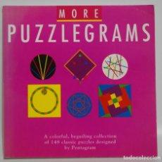Juegos antiguos: PUZZLEGRAMS MORE AÑO 1994 PUZZLEGRAMAS. Lote 210195693