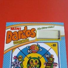 Juegos antiguos: MINI DIANA DARDOS MAGNÉTICOS ESPACIAL.RIMA 80S.NUEVA.. Lote 210358215