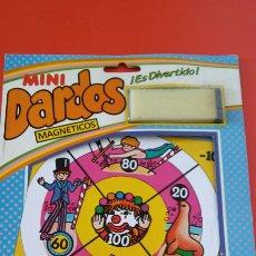 Giochi antichi: MINI DIANA DARDOS MAGNÉTICOS CIRCO.RIMA 80S.NUEVA.. Lote 240526200