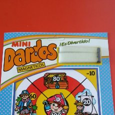 Giochi antichi: MINI DIANA DARDOS MAGNÉTICOS PIRATAS.RIMA 80S.NUEVA.. Lote 240525185