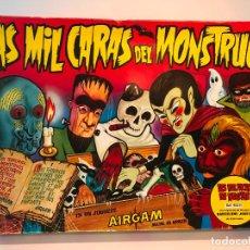 Juegos antiguos: CAJA LAS MIL CARAS DEL MONSTRUO DE AIRGAM. Lote 210553110