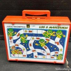 Juegos antiguos: JUEGO MAGNÉTICO RIMA LOS 6 MARCIANITOS. Lote 211436105