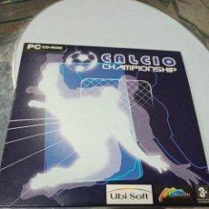 Juegos antiguos: JUEGO CD CALCIO CHAMPIONSHIP. Lote 211489651