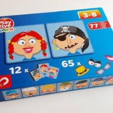 Juegos antiguos: PLAY TIVE JUNIOR JUEGO DE PIEZAS MAGNETICAS (FALTAN PIEZAS). Lote 211498587