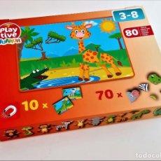 Juegos antiguos: JUEGO DE PIEZAS MAGNETICAS (FALTAN PIEZAS). Lote 211498945