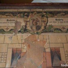 Juegos antiguos: MOSAICO DE PIEDRA,C.WALTHER,PROVEEDOR DE LA CASA REAL Y OTRAS CORTES IMPERIALES,S.XIX,CAJA ORIGINAL. Lote 212491487