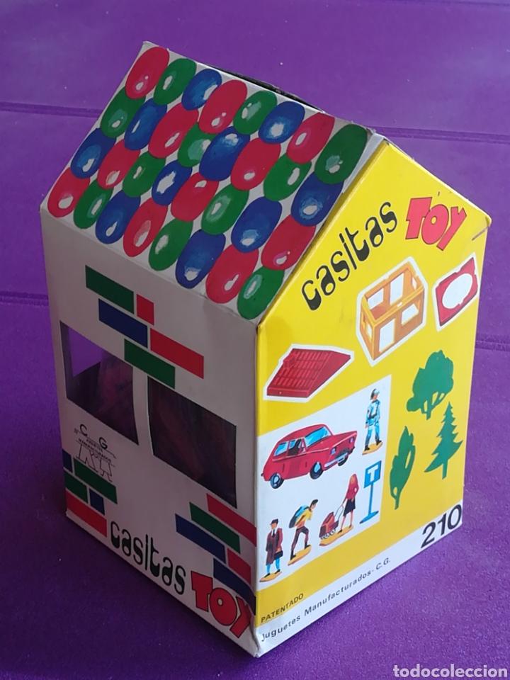 Juegos antiguos: CASITAS TOY Juguetes manufacturados CG C G construcción. (Paya Sanchis Feber...) - Foto 2 - 213061962
