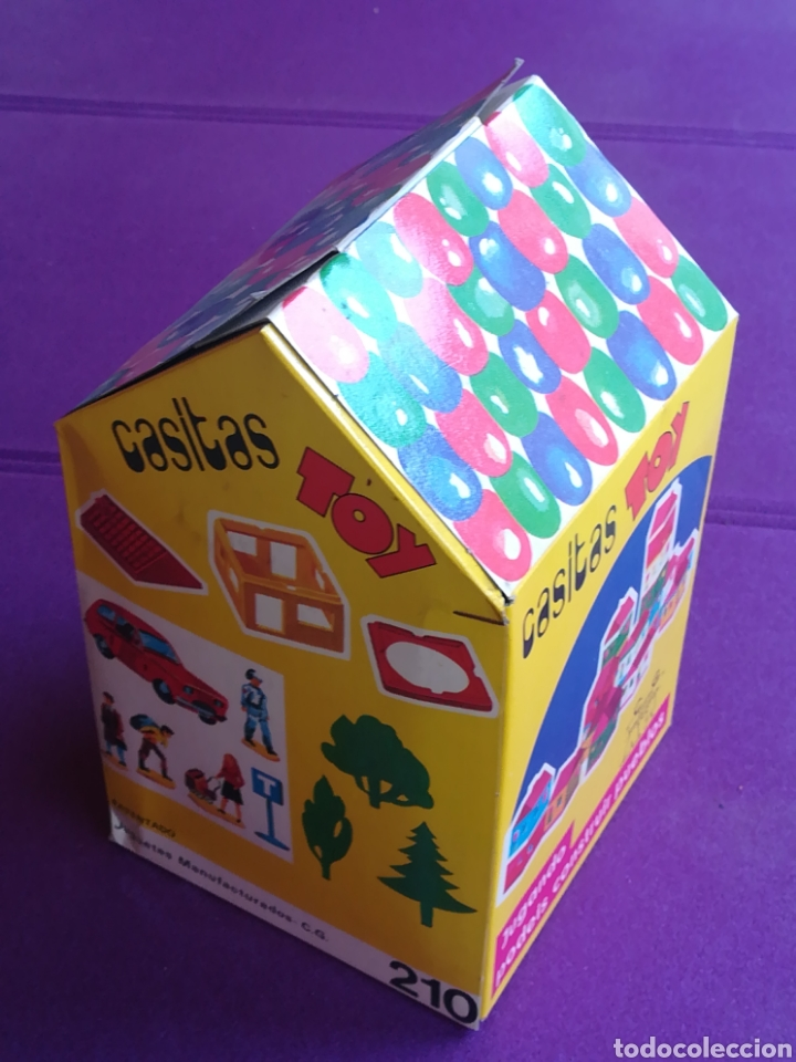 Juegos antiguos: CASITAS TOY Juguetes manufacturados CG C G construcción. (Paya Sanchis Feber...) - Foto 4 - 213061962