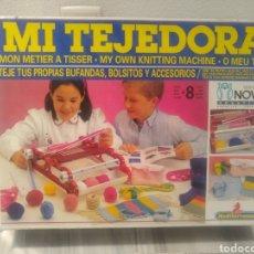 Juegos antiguos: JUEGO MI TEJEDORA AÑOS 80. Lote 213979077