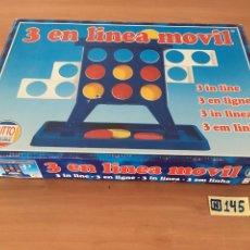 Juegos antiguos: 3 EN LÍNEA MOVIL. Lote 214141413