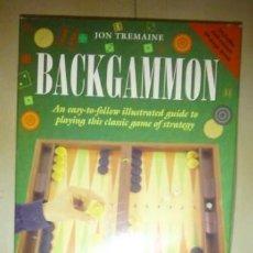 Juegos antiguos: JUEGO DE MESA BACKGAMMON. Lote 214752035