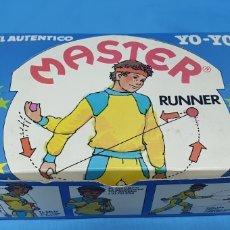 Juegos antiguos: MASTER RUNNER - EL AUTÉNTICO YO-YO - CAJA DE 12 UNIDADES - COMANSI. Lote 214971026