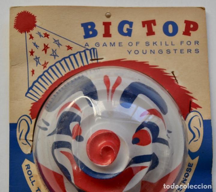 Juegos antiguos: Big Top. Antiguo y Fantástico Juego de Habilidad. Billarín Payaso. Envase Original. Nuevo. New York - Foto 2 - 216751930