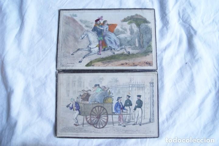 Juegos antiguos: JUEGO DEL CABALLO BLANCO ANTIGUO CON CAJA 2 TIPOS TARJETAS VER FOTOS - Foto 5 - 217119586