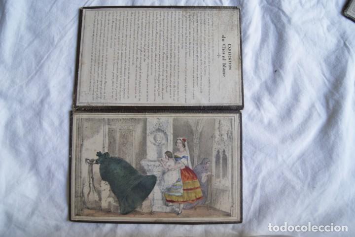 Juegos antiguos: JUEGO DEL CABALLO BLANCO ANTIGUO CON CAJA 2 TIPOS TARJETAS VER FOTOS - Foto 7 - 217119586
