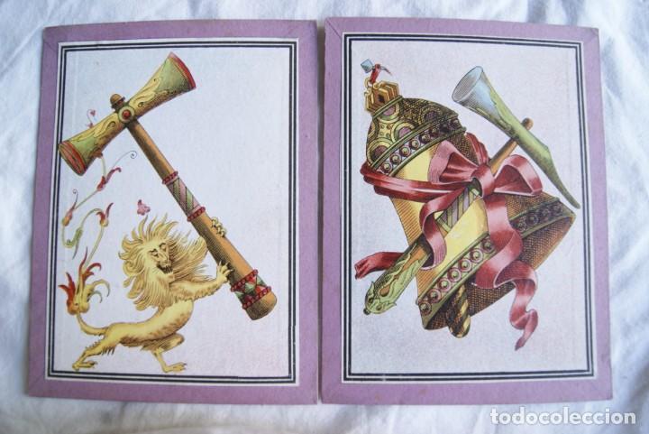 Juegos antiguos: JUEGO DEL CABALLO BLANCO ANTIGUO CON CAJA 2 TIPOS TARJETAS VER FOTOS - Foto 10 - 217119586