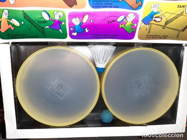 Juegos antiguos: pandereta loca , nuevo vintage - Foto 2 - 217844426
