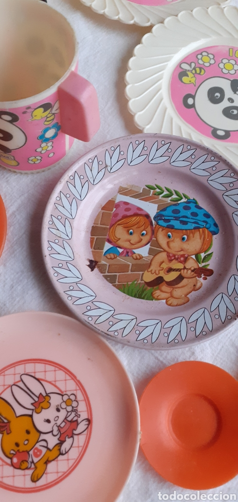 Juegos antiguos: COCINA DE MADERA SAYBA CON CACHARRITOS AÑOS 70 - Foto 46 - 218149636