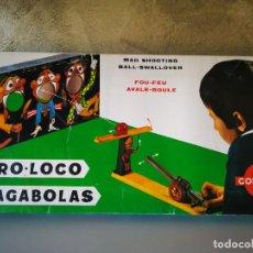 Juegos antiguos: TIRO LOCO TRAGABOLAS CONGOST. Lote 218997717