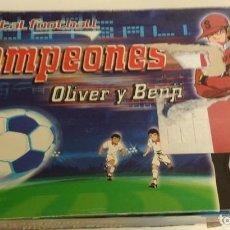 Juegos antiguos: TOTAL FOOTBALL CAMPEONES - OLIVER Y BENJI - REF: 58857 - INCOMPLETO - VER FOTOGRAFIAS *** BANDAI ***. Lote 219976610