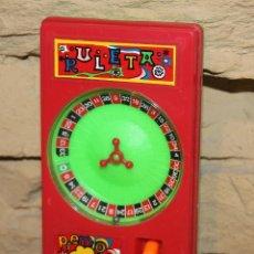 Juegos antiguos: ANTIGUO JUEGO DE BOLSILLO RULETA PREMIO - SIMILAR GEYPER O PAPIROTS - AÑOS 70/80 - FUNCIONANDO. Lote 222712692