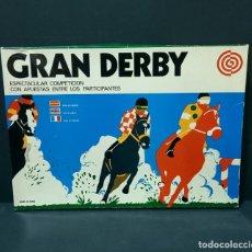 Juegos antiguos: GRAN DERBY SURCO (REF. 30.011) COMPLETO CAJA E INSTRUCCIONES FDO EN SABADELL POR FARRÚS FOLGUERA. Lote 223506486
